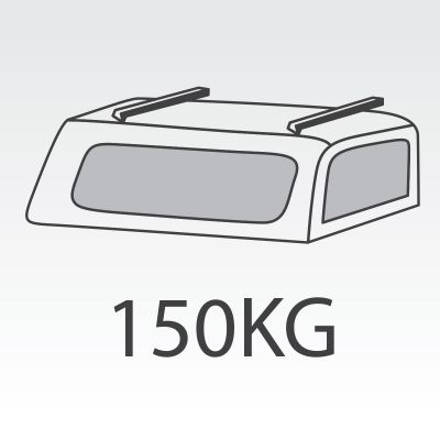 150kg Canopy FlexiRacks with internal supports
