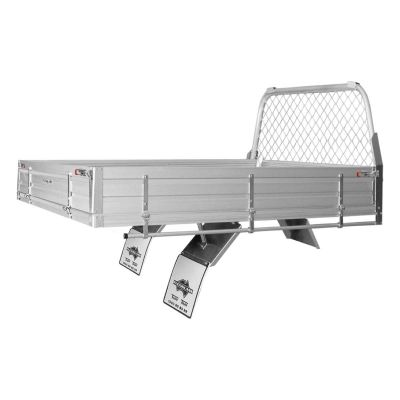 Alloy Ute Tray to suit Toyota Hilux Extra Cab Chassis