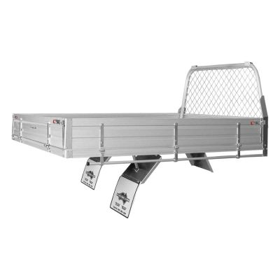Alloy Ute Tray to suit Isuzu D-MAX Single Cab Chassis
