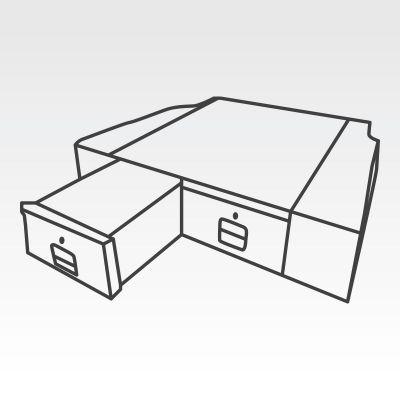 Ute Tub Drawer System to suit Mitsubishi Triton Dual Cab